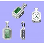 Custom Designed, Emerald Pendant
