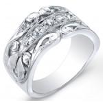 Nouveau Style, Vine Like Diamond Wedding Band