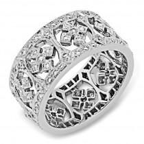 Micro Pave Diamond Ring