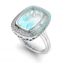 Custom Designed, Aqua Ring