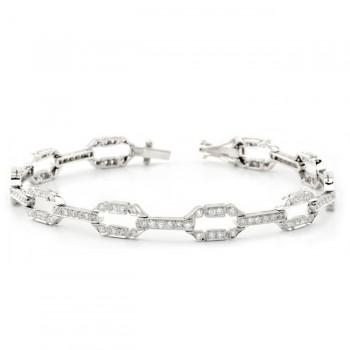 Diamond, Art Deco Bracelet
