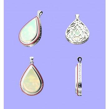 Custom Designed, Opal Pendant